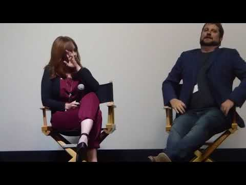 Brian Maurer and Whitney Morgan Cox  2018  LIFF Q and A of In the Wake of Ire