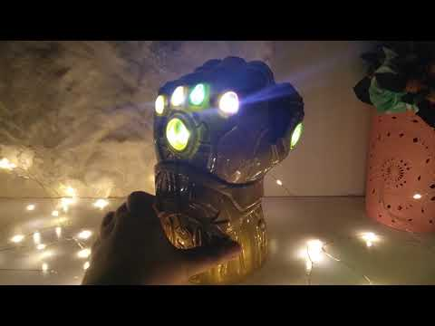 Thanos Gauntlet - It can light up - Avengers Infinity Wars