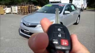 2012 Toyota Camry LE Walkaround, Start up, Tour and Overview