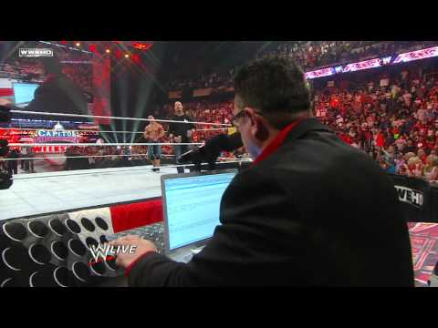 Raw: John Cena & Alex Riley vs. The Miz & R-Truth