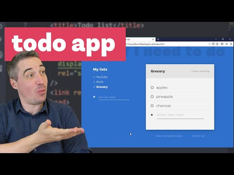 Creating A Better Todo App - The HTML And CSS