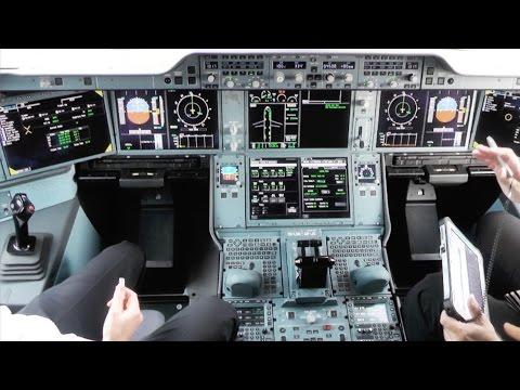 A350 COCKPIT   Finnair's Airbus A350 XWB   OH-LWA