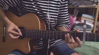 Mình yêu nhau yêu nhau bình yên thôi -Đinh Hương ft Hà Anh Tuấn - guitar solo