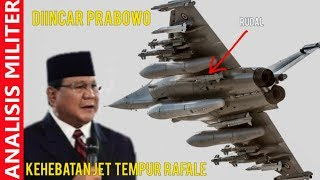 Di Incar Prabowo, Inilah Kehebatan Pesawat Tempur Dassault Rafale Buatan Prancis Ini
