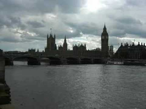 Travel to London, London eye, the Palace of Westminster ロンドンの中心部と観光地