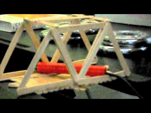 Amazing Popsicle Bridge Project