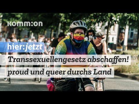Transsexuellengesetz abschaffen! Proud und queer durchs Land