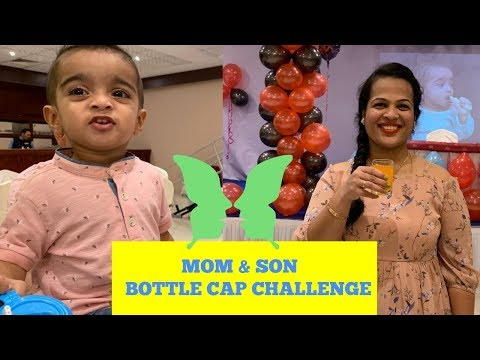 Bottle Cap Challenge In Our Way | Mom And Son Fun Time |This Video Is Just For Fun