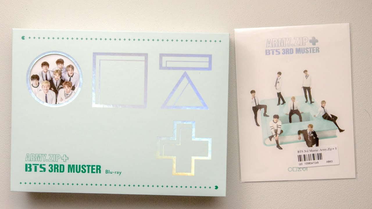 Unboxing | BTS 3rd Muster Army Zip+ Blu ray