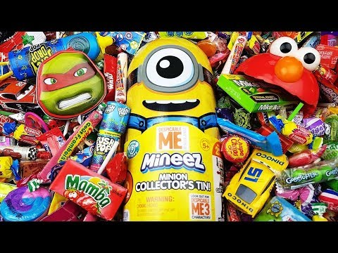 One Two Buckle My Shoe Nursery Rhymes A lot of New Candy Minions Mineez & More