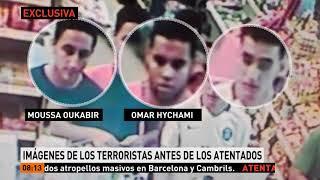 Antena 3 Noticias consigue en exclusiva las imágenes de los terroristas de Cambrils
