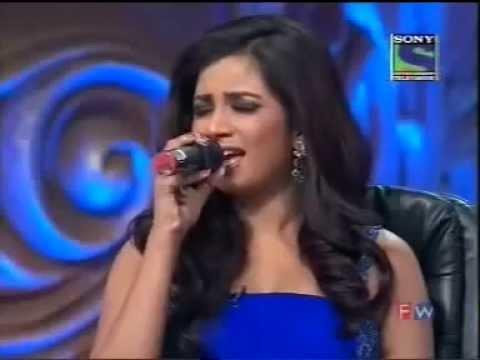 (Sun Raha Hain)Shreya Ghoshal at Indian Idol