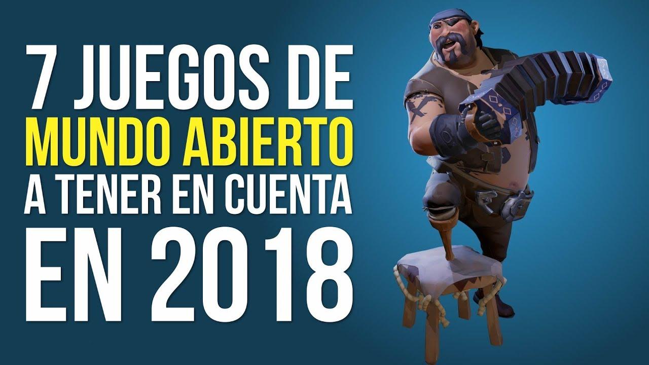 7 Juegos De Mundo Abierto A Tener En Cuenta En 2018 Youtube