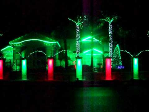 Fred Loya Christmas Light Show