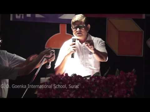 Padmabhushan Dr. B.M. Hegde Manthan Event In G.D. Goenka International School Surat 25 03