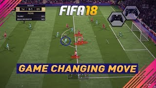 FIFA 18 GAME CHANGER MOVE - THIS TRICK IS INCREDIBLE - ONE OF THE BEST MOVES IN FIFA 18 !!!