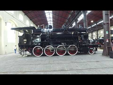 National Train Museum, Naples Italy