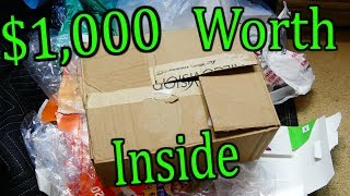 This MYSTERY BOX is Worth OVER $1,000 | Gamestop Dumpster Diving #808
