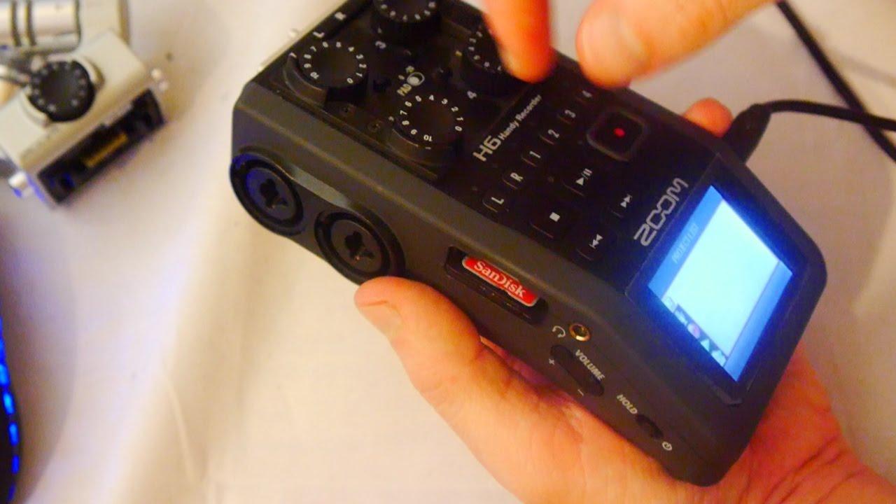 My Zoom H6 Audio Recorder is Broke