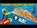 *HACKERS* IN SEASON 2 ARE INSANE!! - Fortnite Funny Fails and WTF Moments! #838