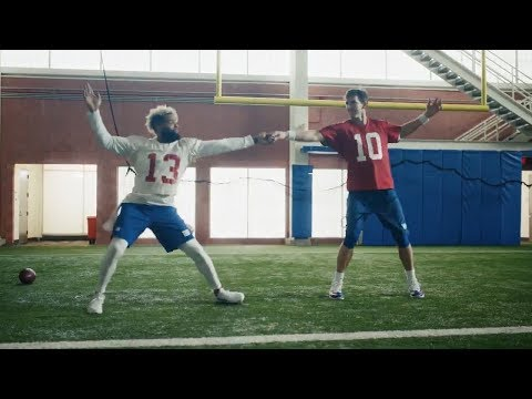 Super Bowl 52: DIRTY DANCING With Odell Beckham Jr. And Eli Manning