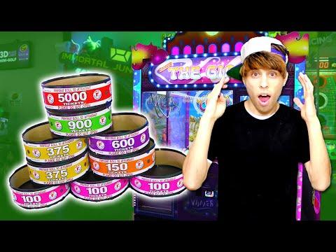 OMG Biggest Arcade Win in HISTORY!!