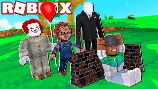 BUILD TO SURVIVE THE MONSTERS OR DIE IN ROBLOX