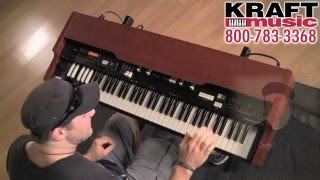 Kraft Music - Hammond XK-3c Organ Demo with Scott May and Christian Cullen
