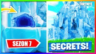 SEASON 7 ALL THE SECRETS OF THE MAP, NEW LOCATIONS, NEW SKINS | FORTNITE