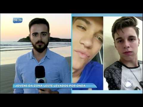 Bombeiros seguem buscas por jovens desaparecidos após selfie em Bertioga (SP)