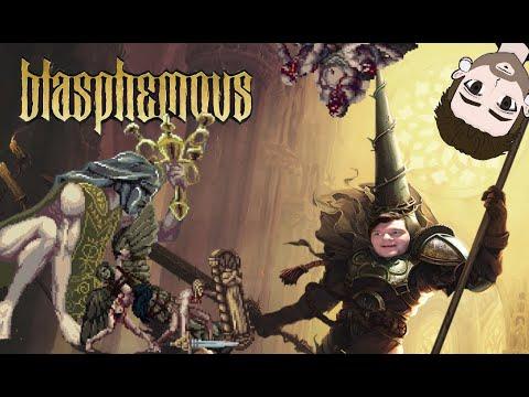 Blasphemous- THIS GAME IS SO FRICKIN COOL! Platformer Friday |