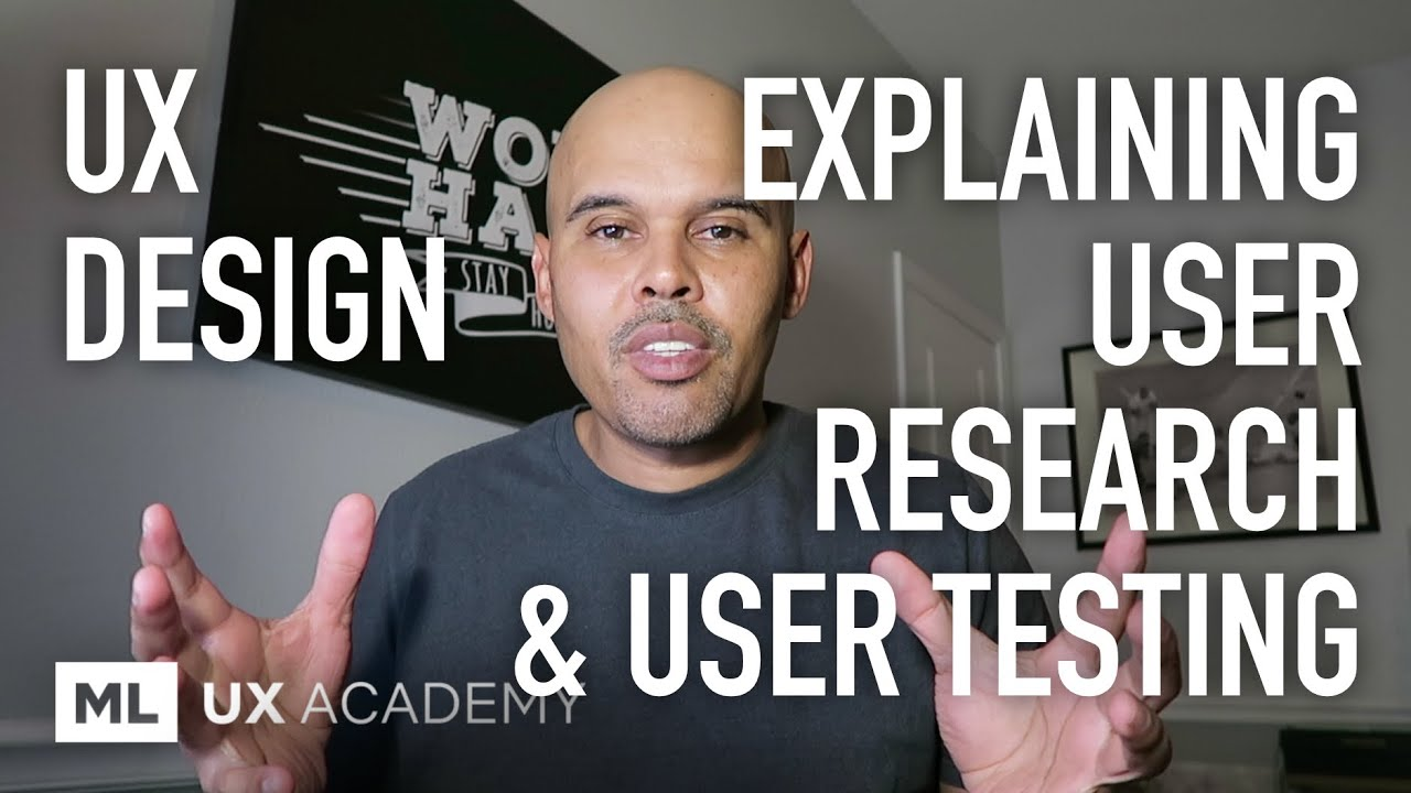 Explaining User Research, User Testing and Where it Fits Into the Design Process