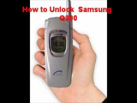 Samsung Q300 Unlock Code - Free Instructions