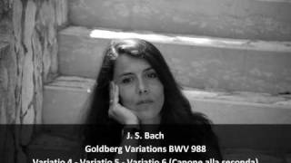 J. S. Bach - Goldberg Variations BWV 988 - 3. Variatio 4, 5, 6 (3/13) - Chiara Massini, Harpsichord