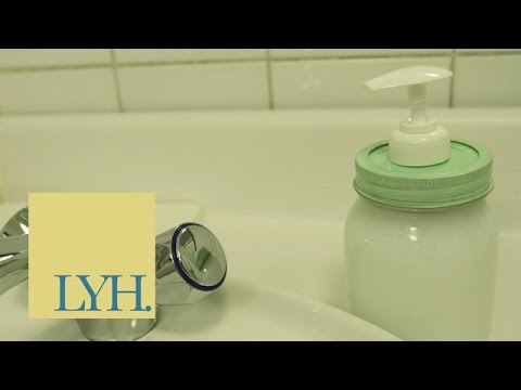 how to keep mason jar soap dispenser from rusting