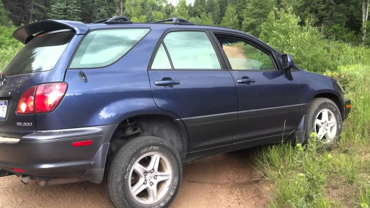 2005 lexus rx300 tires