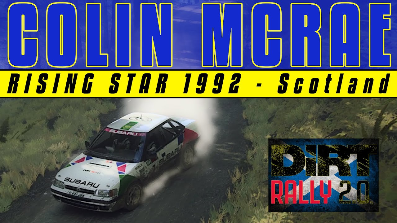 Donk: Colin McRae Rising Star 1992 Scotland DiRT Rally 2.0