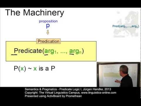 SEM122 - Predicate Logic I