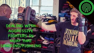 Muay Thai - 3 Ways to use Guard Changes to Counter Aggressive Fighters with Greg Wootton