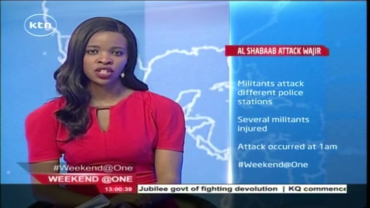 Suspected Al Shabab militia have attacked different police station in Wajir County