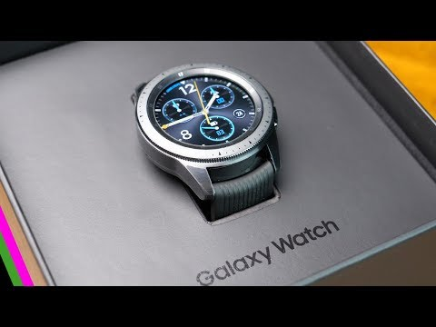 Samsung Galaxy Watch Unboxing & First Impressions