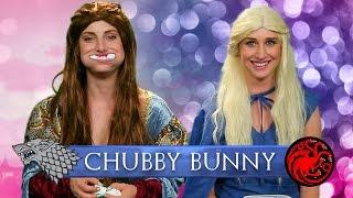 Chubby Bunny Challenge: Game of Thrones Sansa Vlog!