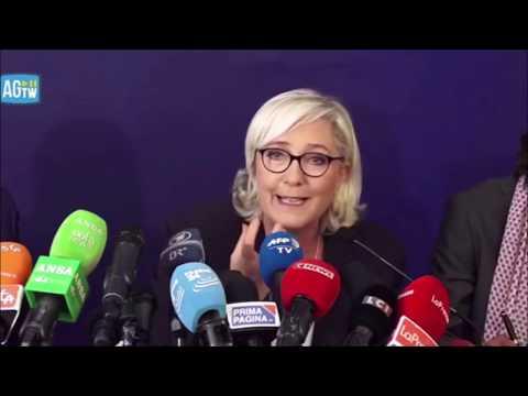 Matteo Salvini - Marine Le Pen - Conférence de presse Rome 08 10 2018 PII