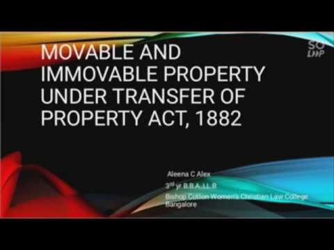 movable-and-immovable-property-under-transfer-of-property-act
