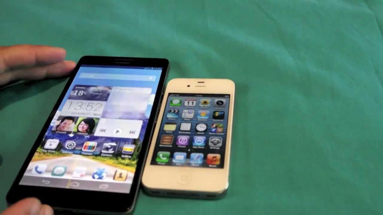 IPHONE 8 VS HUAWEI P1