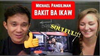 "Michael Pangilinan sings ""Bakit Ba Ikaw"" LIVE on Wish 107.5 Bus REACTION"