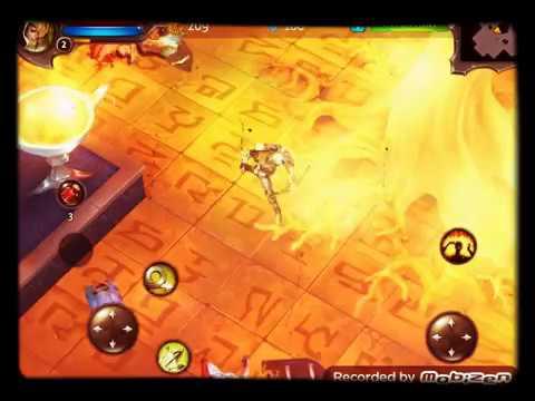 Dungeon Hunter 4 Part 2  FIGHTING HUGE BOSS!!