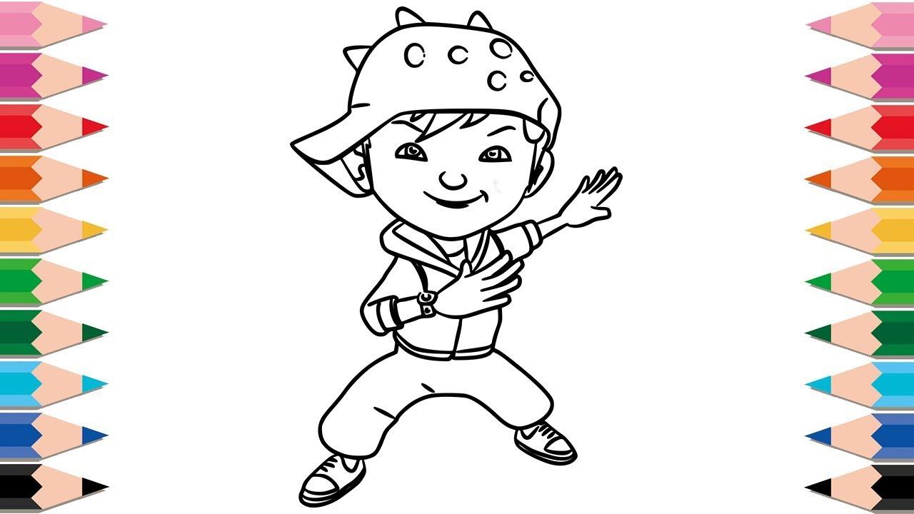 How To Draw Boboiboy Api