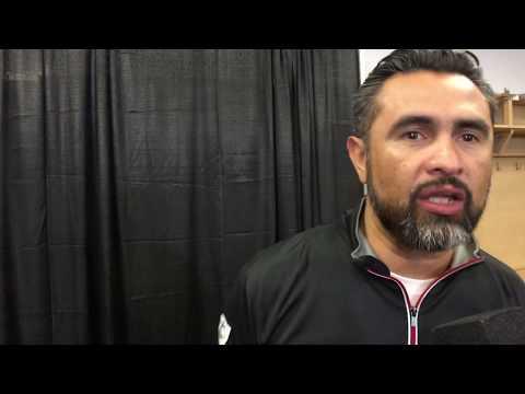 Manny Robles habla sobre Oscar Valdez vs Genesis Servania - Post fight interview