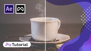 Partikel-Builder Tutorial: Erstellen Sie den Kaffee-Dampf-Partikel-Effekt | After Effects